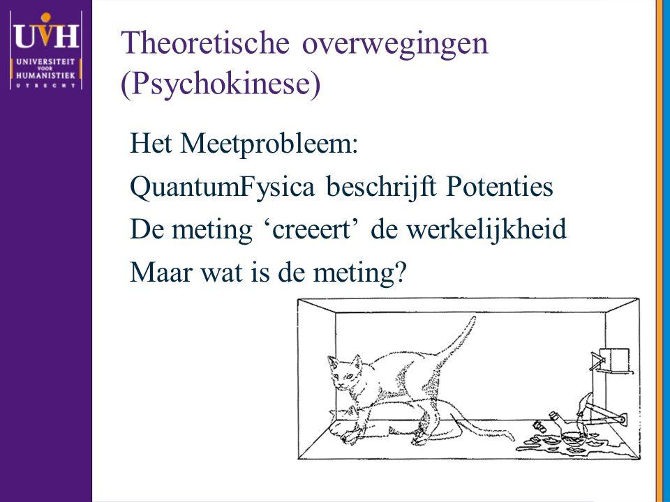 Theoretische overwegingen (Psychokinese)