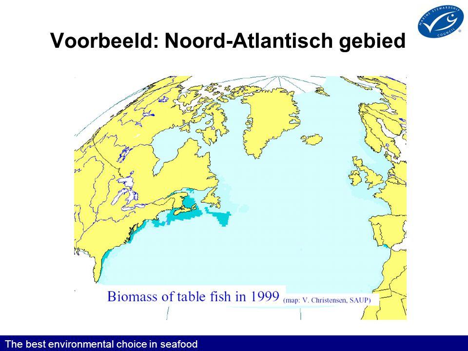 Voorbeeld: Noord-Atlantisch gebied