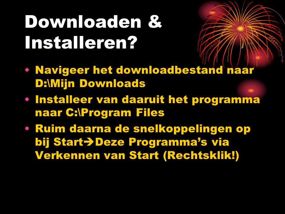 Downloaden & Installeren