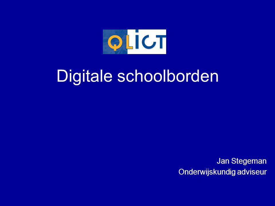 Wat is een Digitaal schoolbord