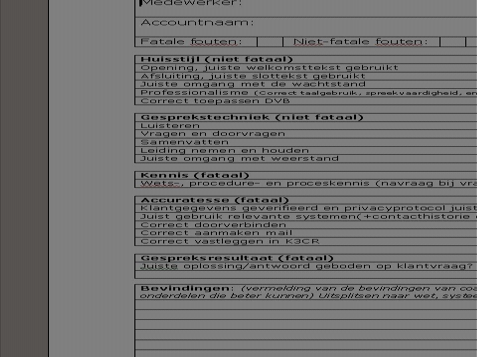 Uitleg scoreformulier (deze niet uitdelen, omdat het formulier regelmatig wijzigt, ook om de reden dat het formulier verkeerd kan worden geïnterpreteerd door de ontvanger). Het formulier is ontwikkeld vanuit het KTO en daarom wijzigt het.