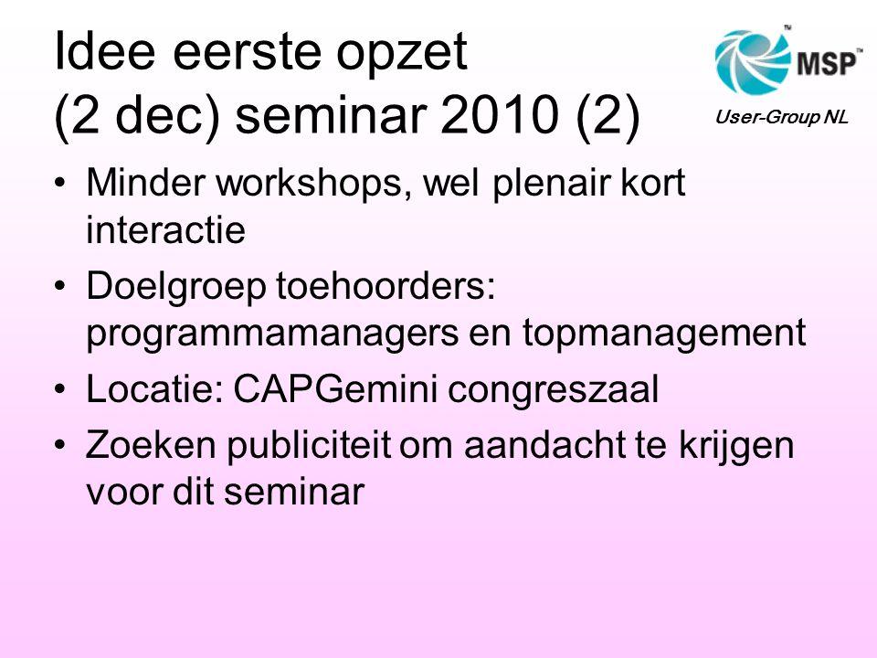 Idee eerste opzet (2 dec) seminar 2010 (2)