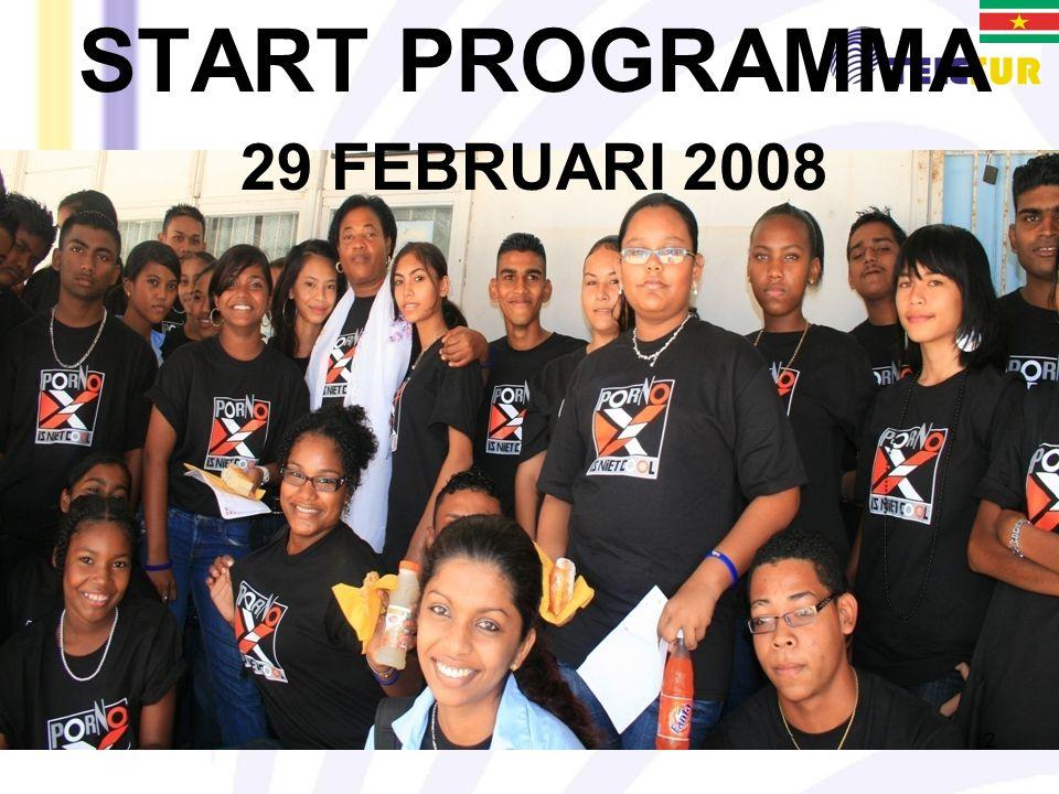 START PROGRAMMA 29 FEBRUARI 2008