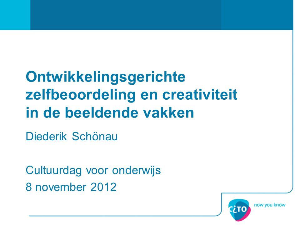 Diederik Schönau Cultuurdag voor onderwijs 8 november 2012