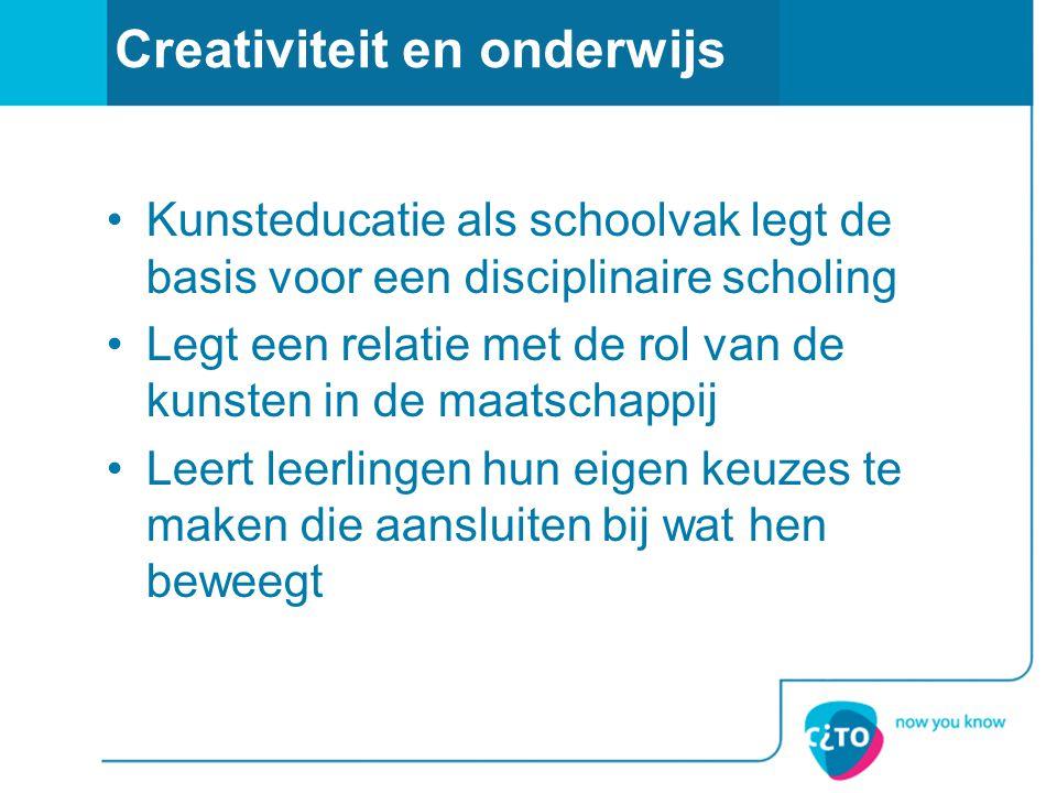 Creativiteit en onderwijs
