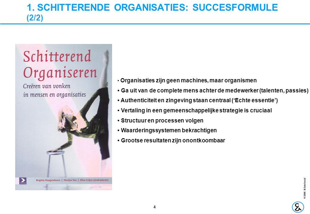 1. SCHITTERENDE ORGANISATIES: SUCCESFORMULE (2/2)