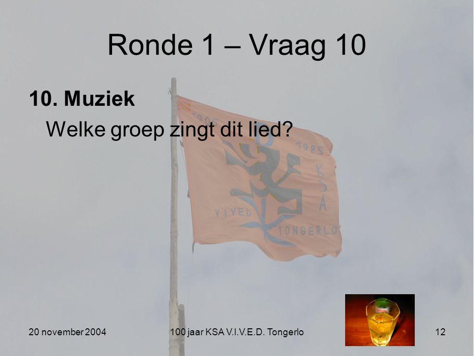 100 jaar KSA V.I.V.E.D. Tongerlo