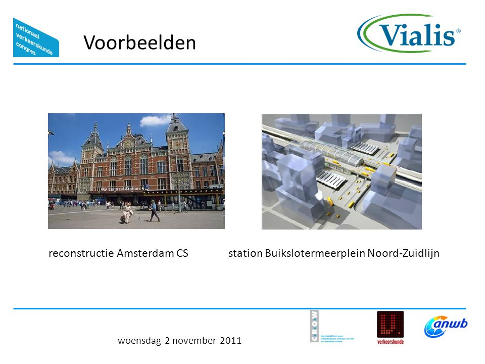 Voorbeelden reconstructie Amsterdam CS