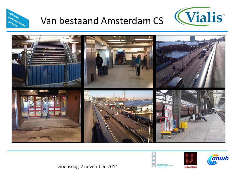 Van bestaand Amsterdam CS