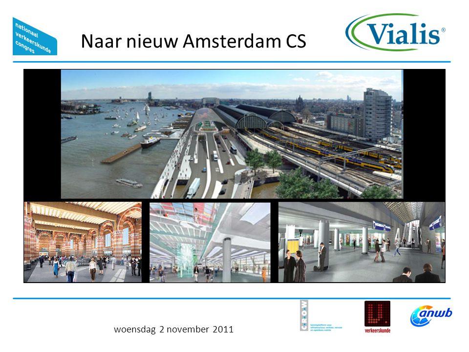 Naar nieuw Amsterdam CS