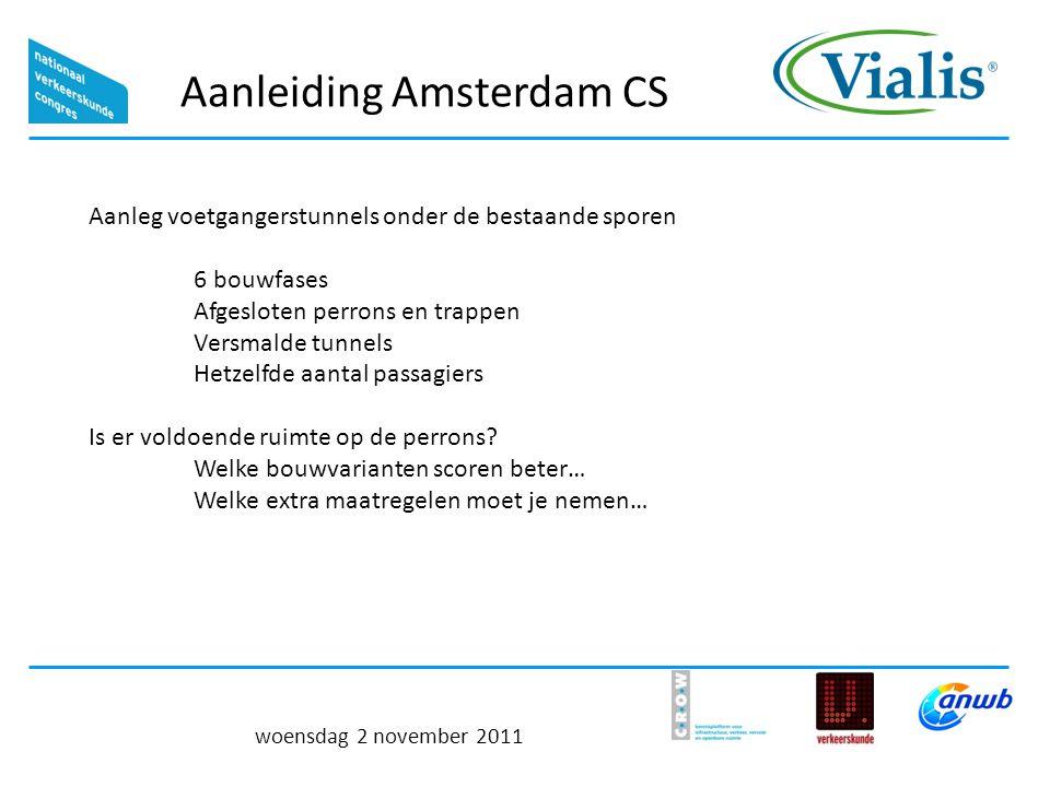 Aanleiding Amsterdam CS