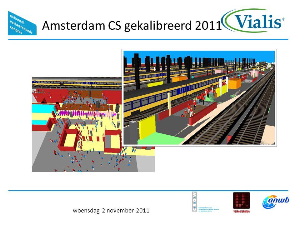 Amsterdam CS gekalibreerd 2011