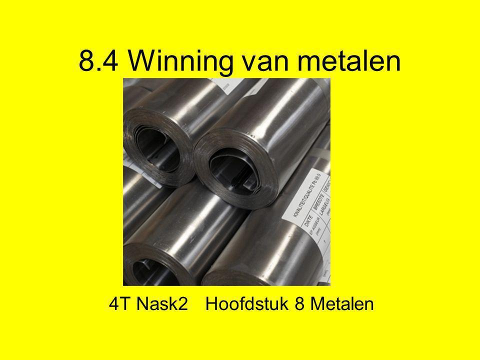 4T Nask2 Hoofdstuk 8 Metalen