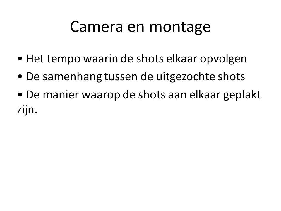 Camera en montage