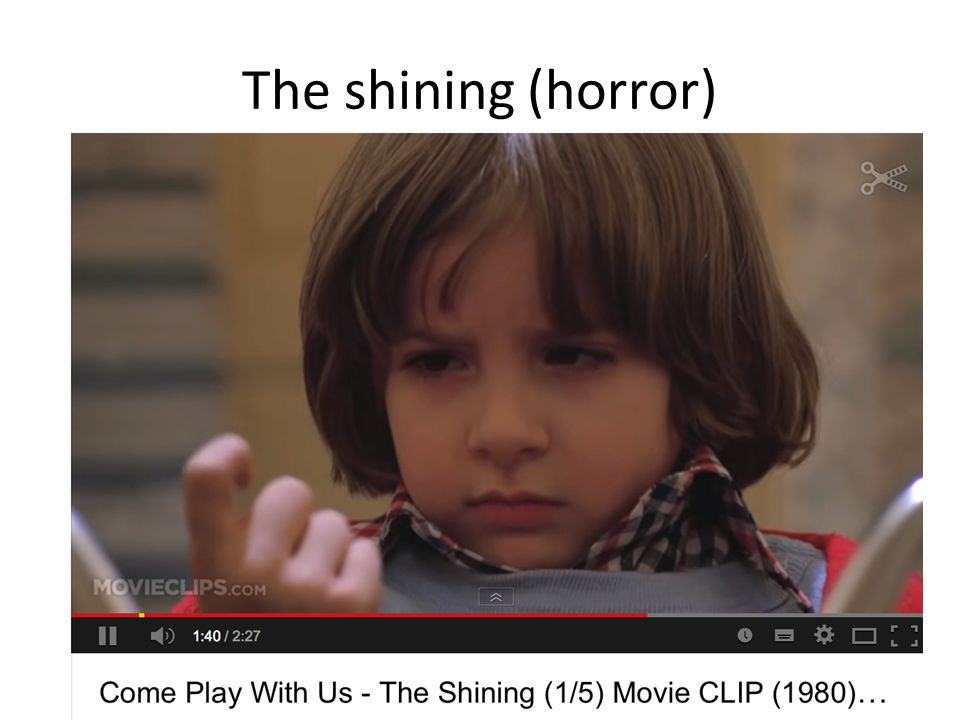 The shining (horror)