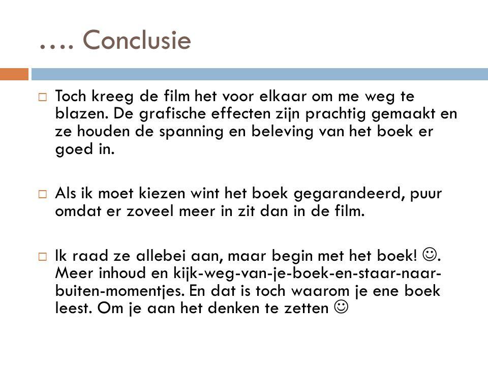 …. Conclusie