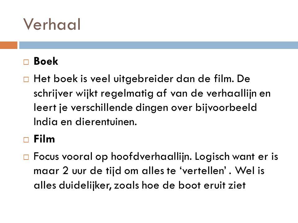 Verhaal Boek.