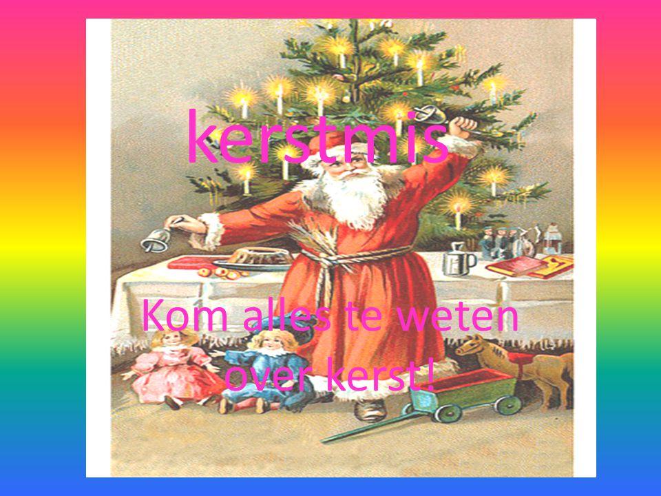 Kom alles te weten over kerst!
