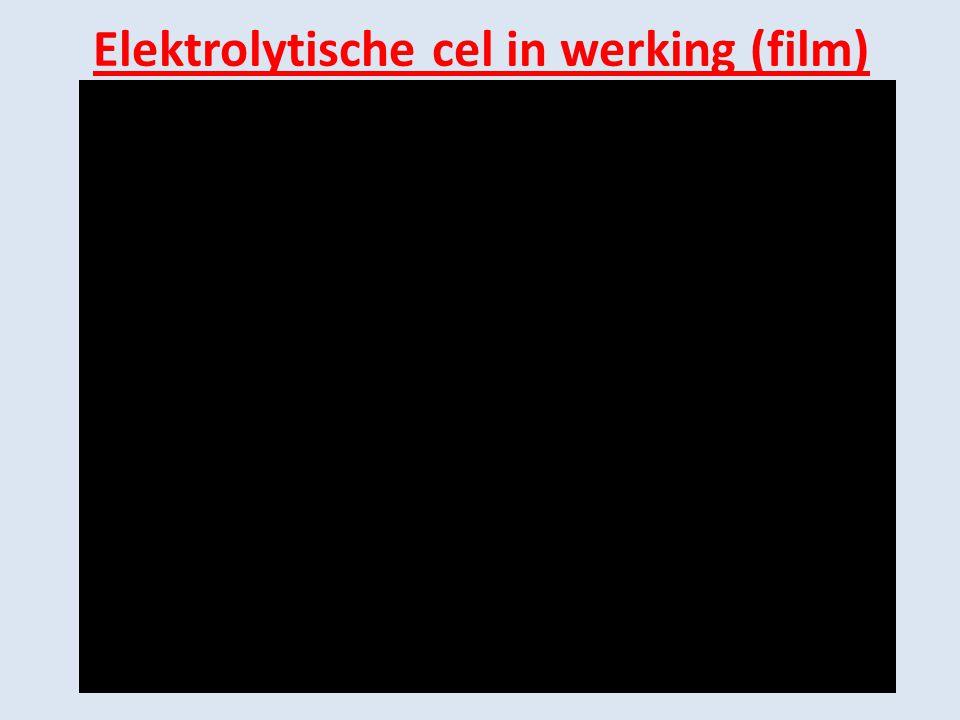 Elektrolytische cel in werking (film)