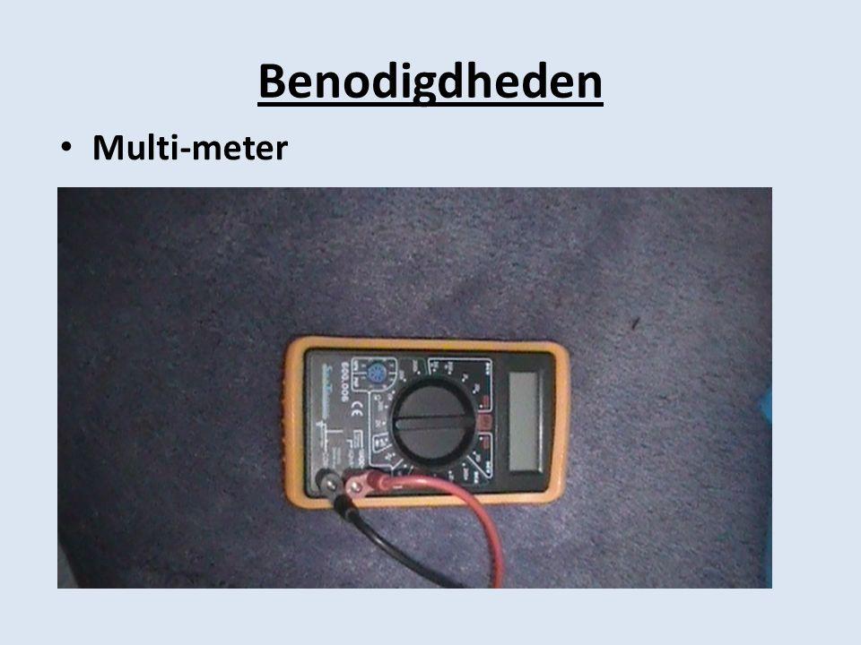 Benodigdheden Multi-meter