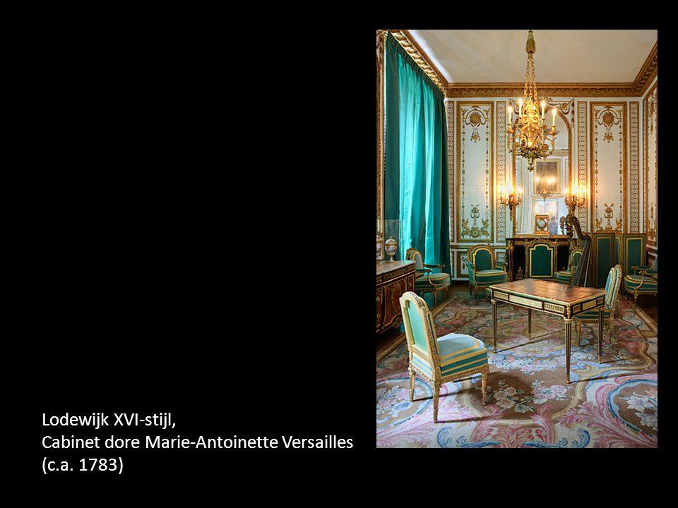 Lodewijk XVI-stijl, Cabinet dore Marie-Antoinette Versailles (c. a