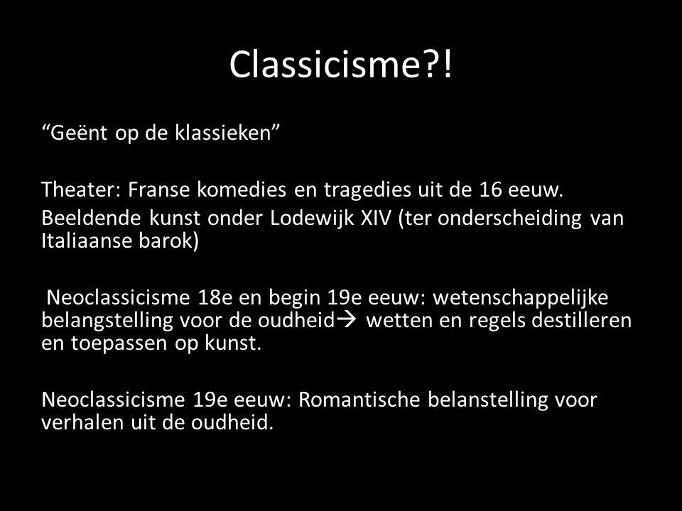 Classicisme !