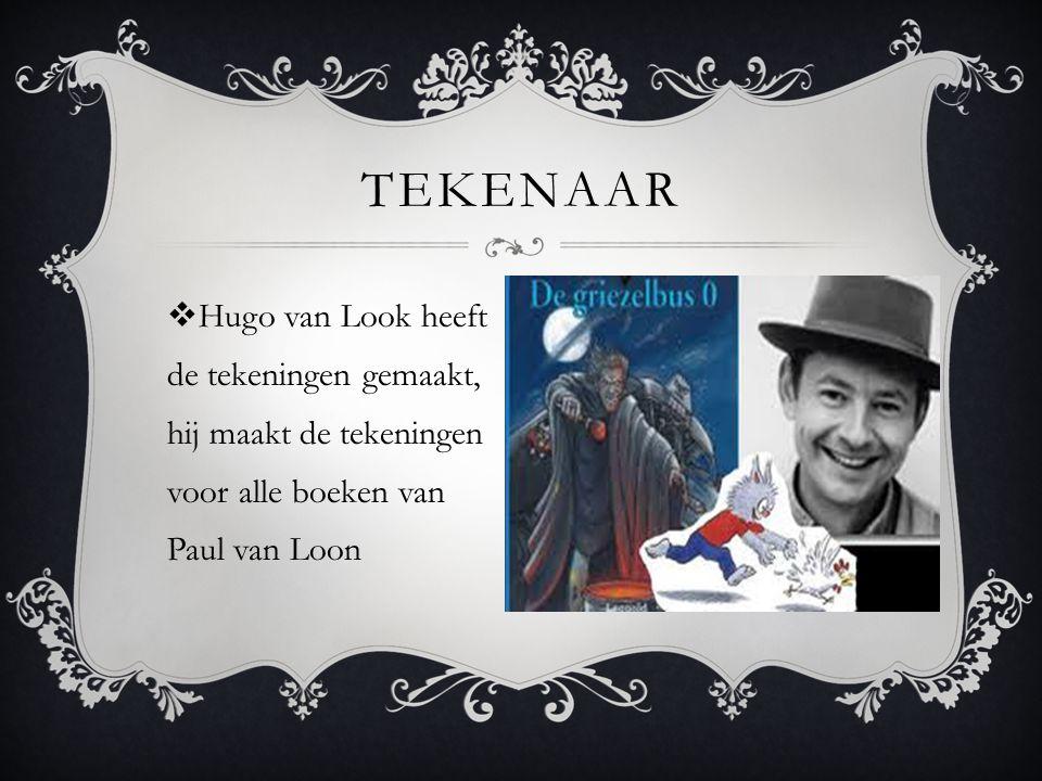 Tekenaar Hugo van Look heeft de tekeningen gemaakt, hij maakt de tekeningen voor alle boeken van Paul van Loon.