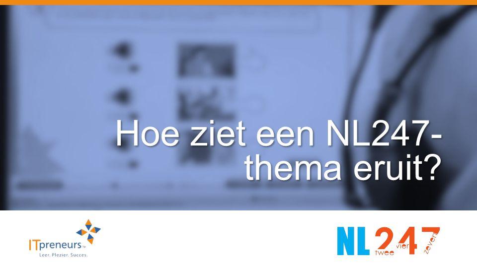 Hoe ziet een NL247-thema eruit