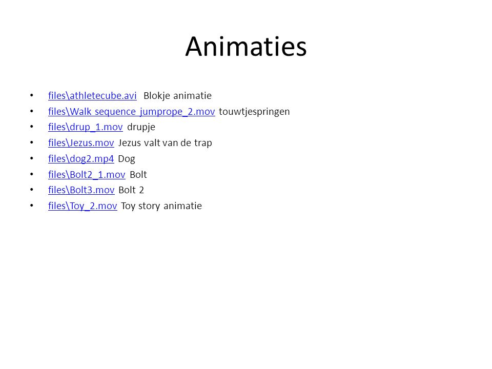 Animaties files\athletecube.avi Blokje animatie