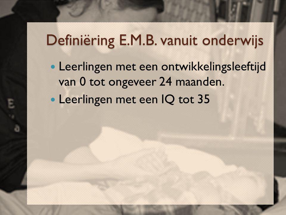 Definiëring E.M.B. vanuit onderwijs