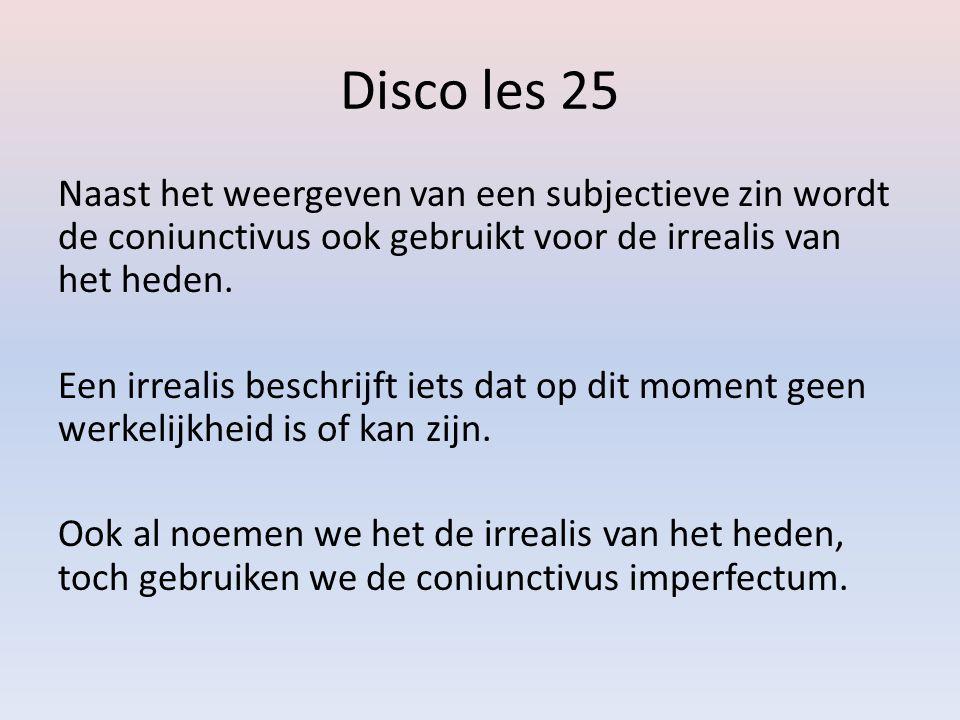 Disco les 25