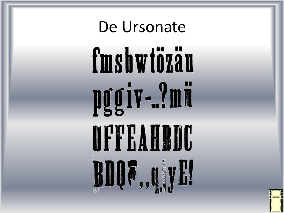 De Ursonate