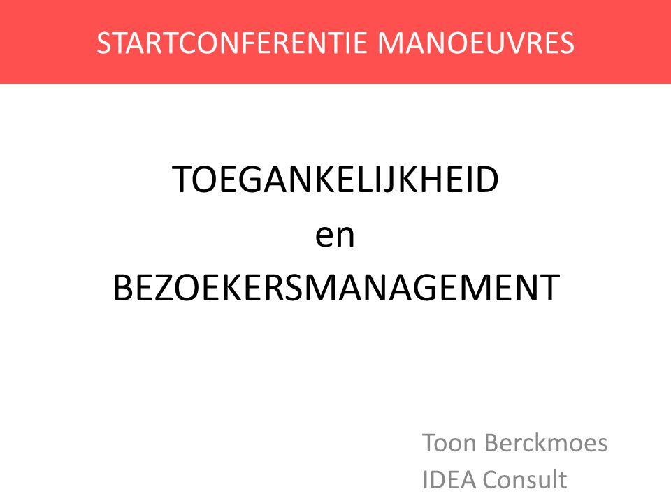 STARTCONFERENTIE MANOEUVRES