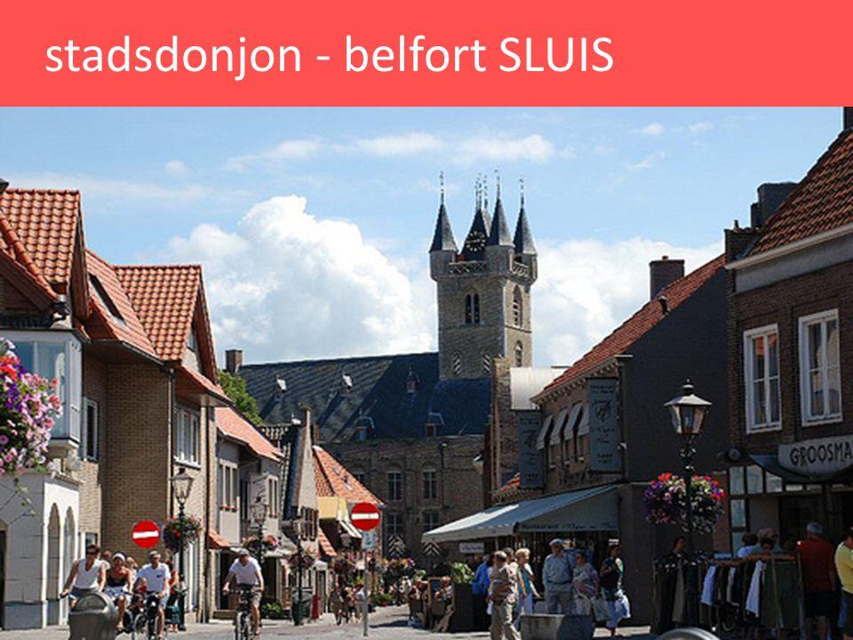 stadsdonjon - belfort SLUIS