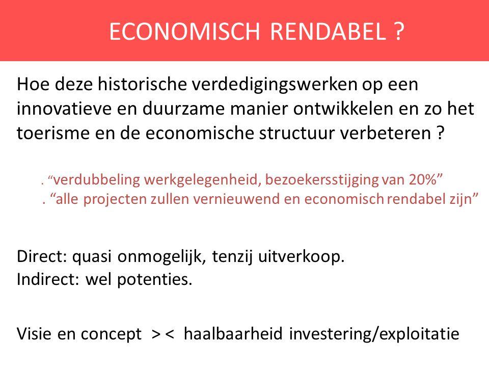 ECONOMISCH RENDABEL