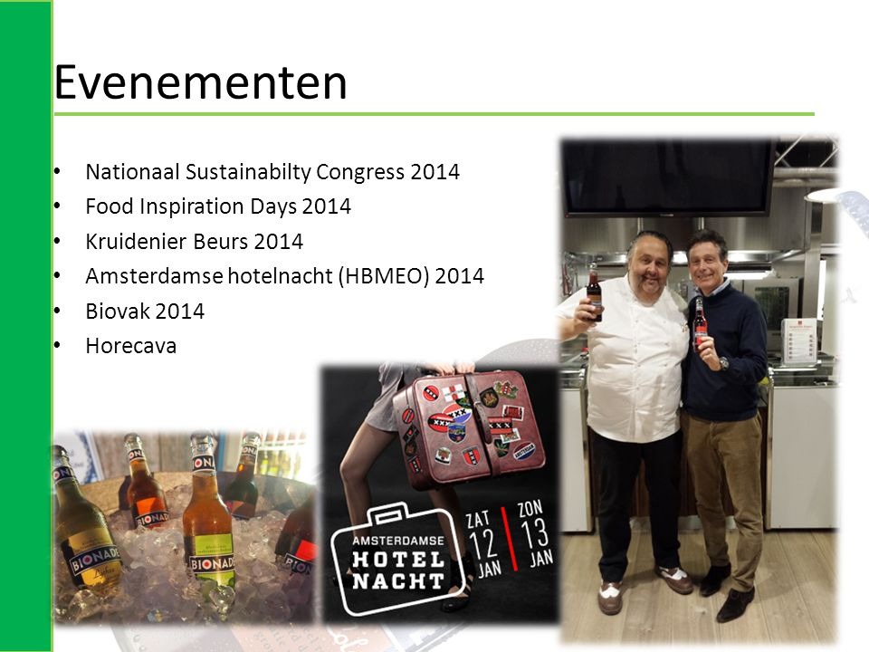 Evenementen Nationaal Sustainabilty Congress 2014