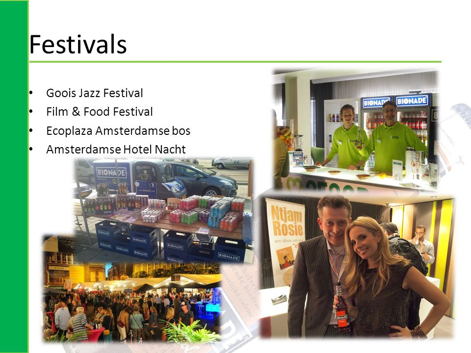 Festivals Goois Jazz Festival Film & Food Festival