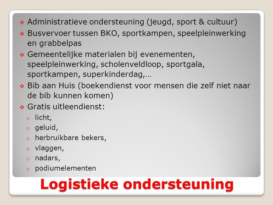 Logistieke ondersteuning