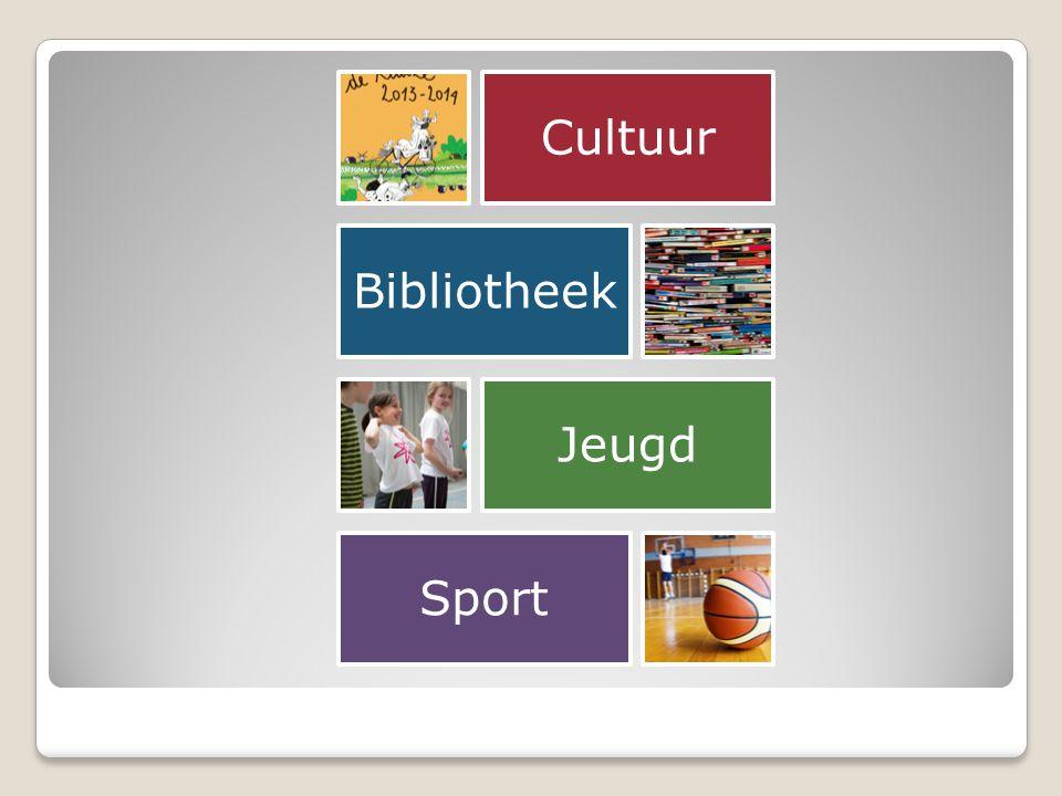 Cultuur Bibliotheek Jeugd Sport