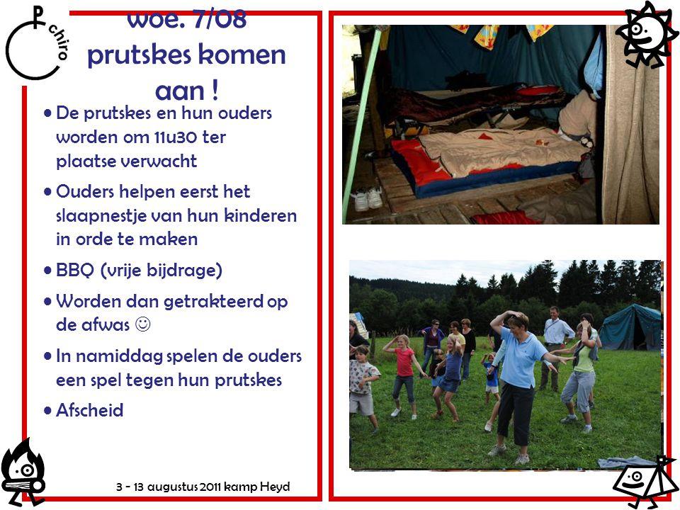 woe. 7/08 prutskes komen aan !