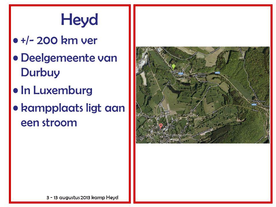 Heyd +/- 200 km ver Deelgemeente van Durbuy In Luxemburg