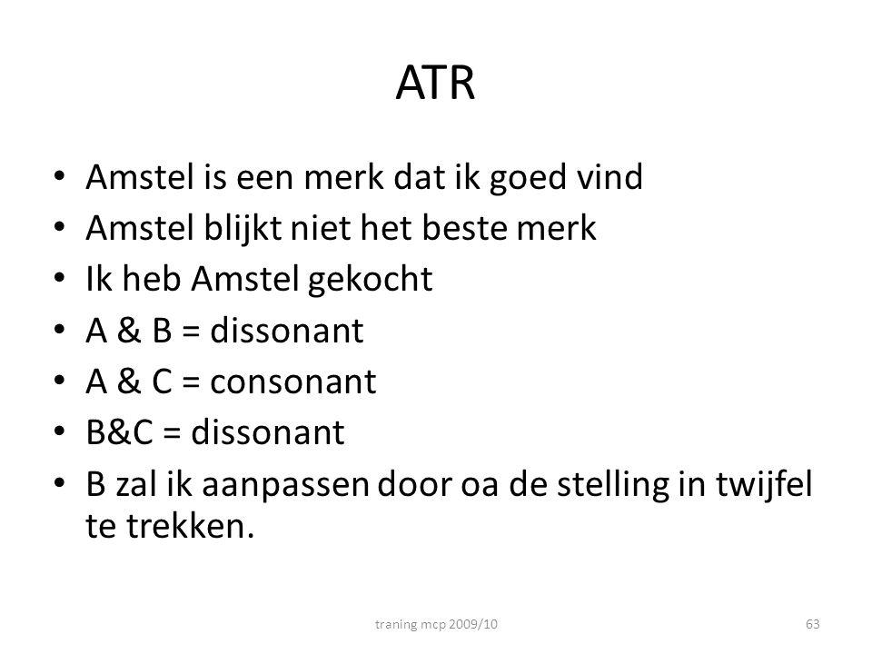 ATR Amstel is een merk dat ik goed vind