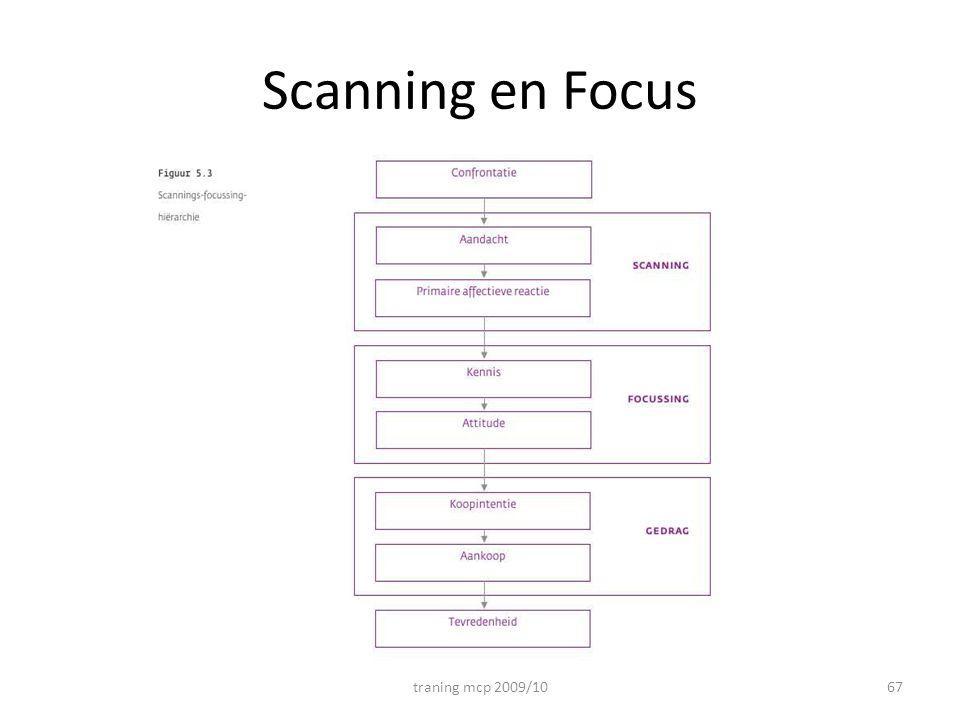 Scanning en Focus traning mcp 2009/10