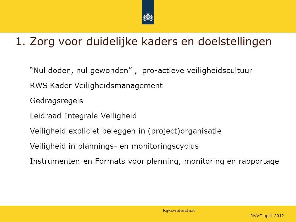 1. Zorg voor duidelijke kaders en doelstellingen