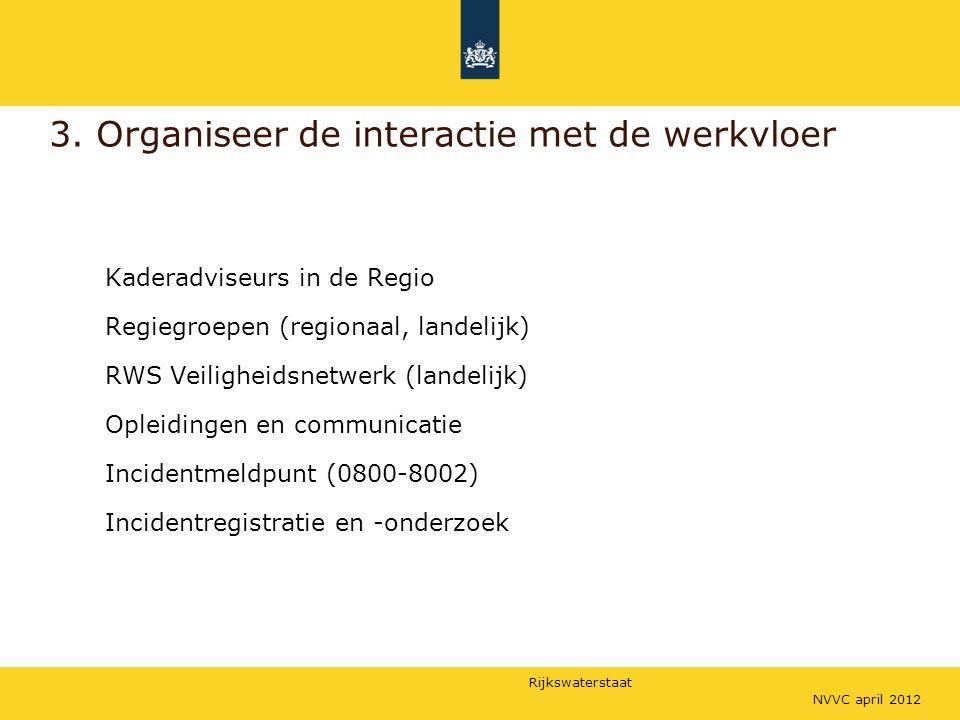 3. Organiseer de interactie met de werkvloer