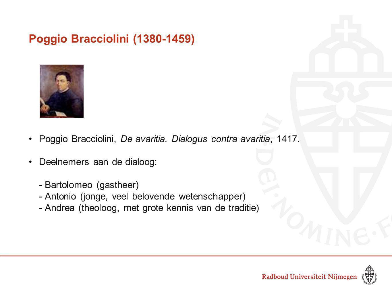 Poggio Bracciolini (1380-1459)