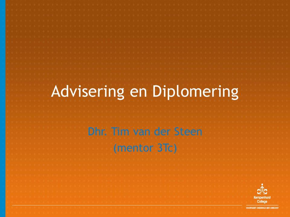 Advisering en Diplomering