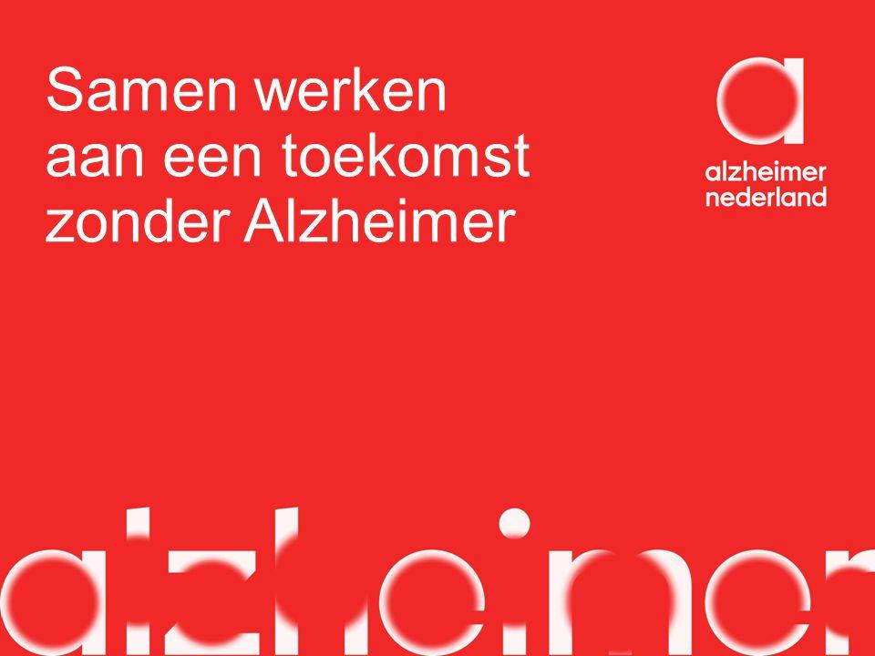 Samen werken aan een toekomst zonder Alzheimer
