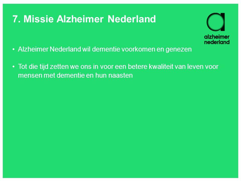 7. Missie Alzheimer Nederland
