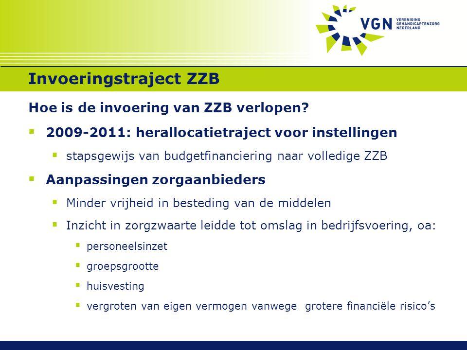 Invoeringstraject ZZB
